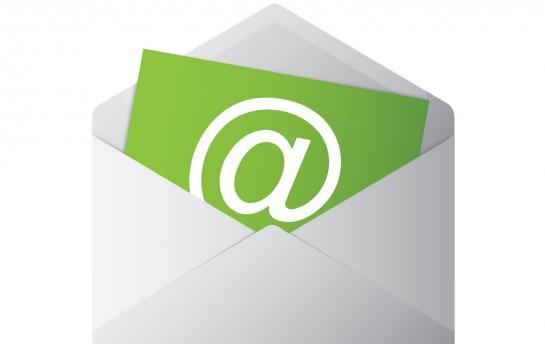 E-mail delivery Drupal website